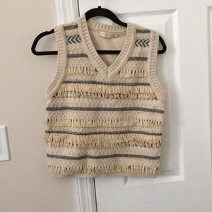 Tory Burch wool sweater vest tank top